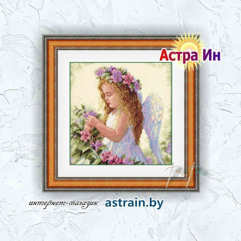 "035229 ""Passion Flower Angel (Цветочный ангел)"" Dimensions"