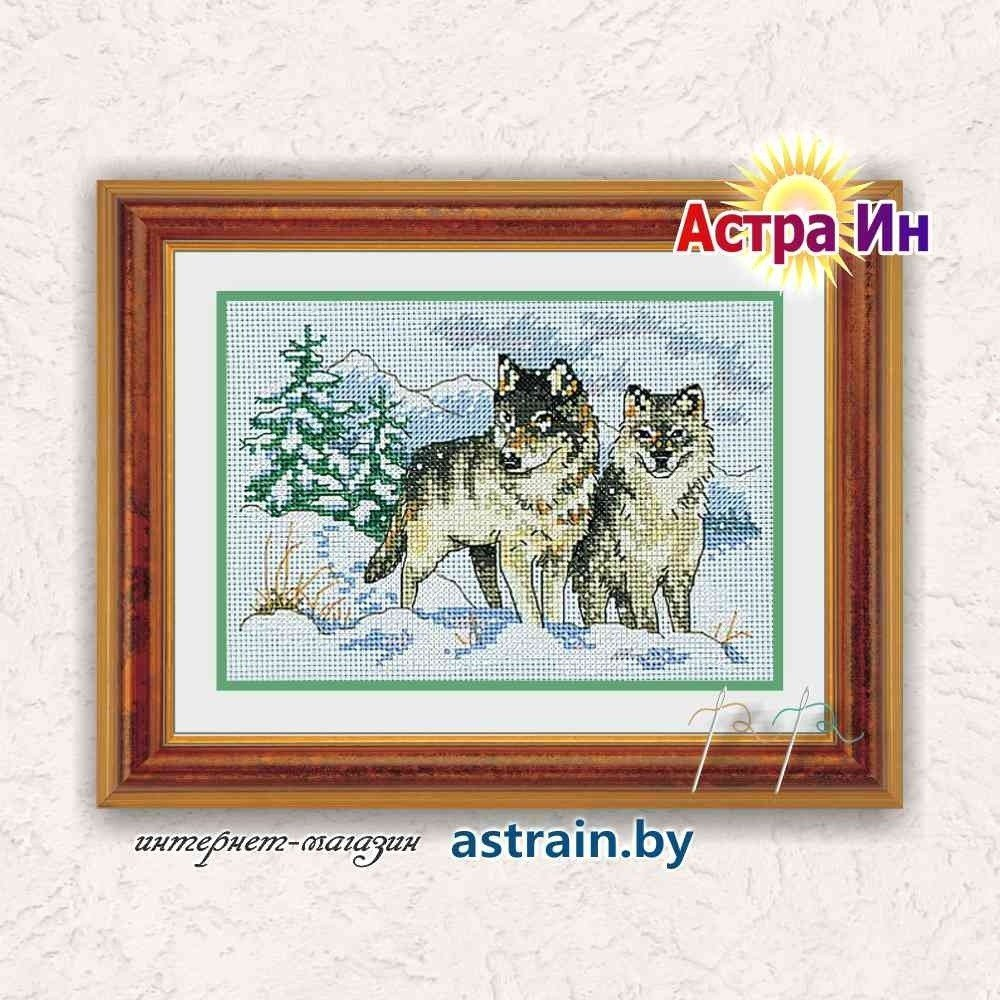 "06800 ""A Pair of Wolves (Пара волков)"" Dimensions"