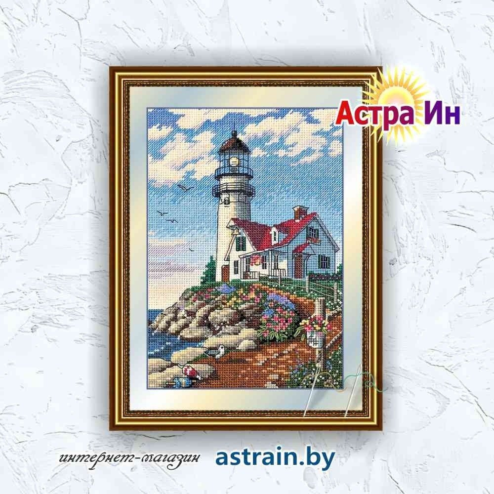 "06958 ""Beacon at Rocky Point (Маяк на скалистом мысе)"" Dimensions"
