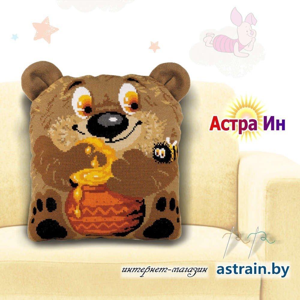 подушка медвежонок риолис